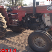 S2672 Red Massey Ferguson (MF) 188 55kW 2x4 Pre-Owned Tractor