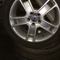 Volvo Mags With Tyres Bargain
