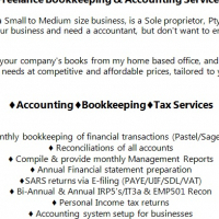 Bookkeeping and accounting services at affordable prices