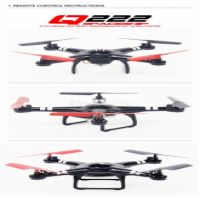 Q222G FPV Quad Copter with camera and screen