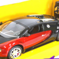 Bugatti Radio Control Model Car (1:14 scale)