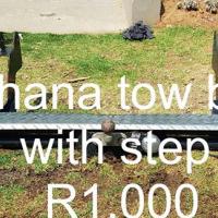 Chana towbar with step