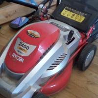 2400 watt Ryobi lawnmower