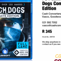 PS4 Game: Watch Dogs Complete Edition
