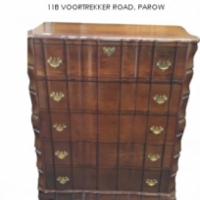 Stinkwood Chest of Drawers For Sale at Springbok Furnishers.