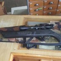 Browning pellet met scope en sak