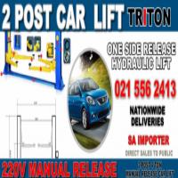 CAR LIFTS (TRITON) BRAND NEW