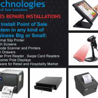 POS Slip Printers, Finger Readers, Touch Screens, Drawers etc
