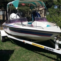 Speed Boat 16 Ft Miami Sport 120 Johnson