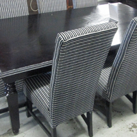 casablanca dinning room table and chairs