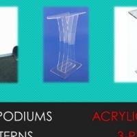Transparent Acrylic Lecterns