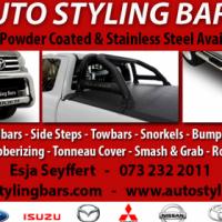 Nudge Bars, Rollbars, Side Steps, Towbars & Tonneau Covers etc