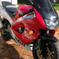 Yamaha YZF  to swap for a small car