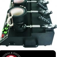 High Quality 5 head Production Mug Press.