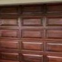 Double garage Door Wooden New