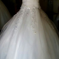 wedding dress stock