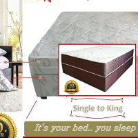 I-DOUBLE BED - BASE + MATTRESS SALE !!! I-NYANGA, iNtshona-Koloni-R1600 INTSHA entsha!