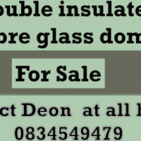Dome type fibre glass moon houses for sale