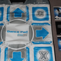 Wii Dance party club hits with dance mat