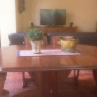 Dining room table and side-board for sale