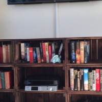 Crate Shelving/ Plasma Tv Stand