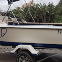 Immaculate new spec 18,6 Ace craft with two Yamaha 70 hp Trims , Night rated , fully equipped!