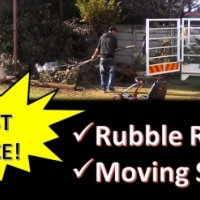 Ruble removal and or furniture transport