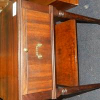 2 x Wooden Pedestals