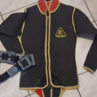Diving suit No 4 with weight belt