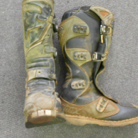 Thor Bike Boot Size 9