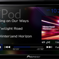 "Pioneer AVH-295BT 6.2"" Touch Screen Bluetooth/ipod DVD Player including installation"