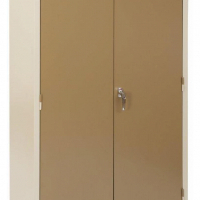 Stationery Cupboard Steel 2 door