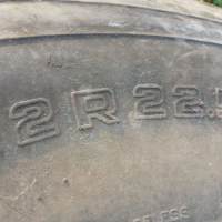 To Swop 22.5 tires for 920
