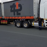 6m/12m Tautliner trailer combination for sale