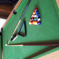Pool Table / Table Tennis Combination set