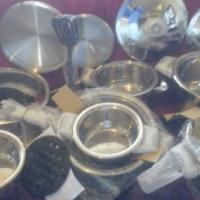 7 Piece Set of Pots