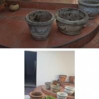 Garden pots mixed-26 pieces
