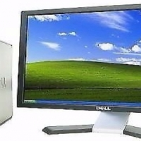 "Dell GX620 Desktop PC Intel Pentium 2.8GHz 2GB Ram 80GB HDD 19""LCD Monitor"