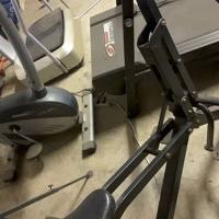 Trap fiets masjien