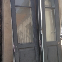 Iroko exterior wooden doors