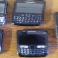 4 BlackBerry Phones + Nokia - R285