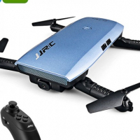 Foldable Drone - 720p Camera, 6 Axis, 7 Min Flight Time, FPV, App Support, Flight Planning, Headless