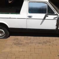 Fiat 128 bakkie and Morris 1000