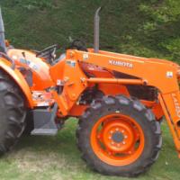 Kubota Tractor 25hp 4wd