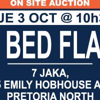 AUCTION: MULTIPLE FLATS IN PRETORIA NORTH