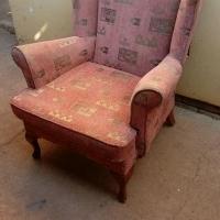 Wingback stoel