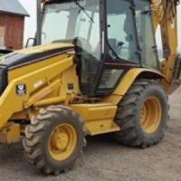 1998 cat 420d loader backhoe