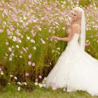 ENZOANI IVORY WEDDING DRESS
