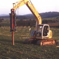 Quick foundations, no digging, no formwork
