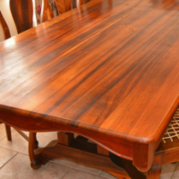 Antique Swarthout Dining Table